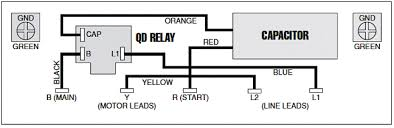 franklin motor qd 3 wire control box