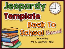 free jeopardy template back to theme by workaholic nbct