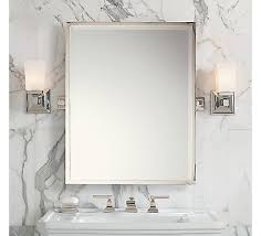 tilt mirror bathroom bungalow blue interiors home luxe for less pivot mirrors