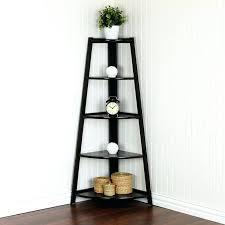 bookcase espresso corner ladder shelf ladder book shelf espresso