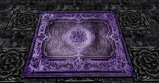 Purple And Black Area Rugs Purple Rug Roselawnlutheran