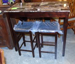 table with 2 stools dining room new nearly new thrift shop fayetteville hope