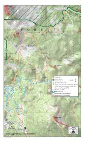 Bend Oregon Map Three Sisters Backcountry Inc Hut To Hut Nordic Traverse