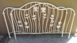White Metal Headboard Finelymade Furniture