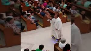 lexus hoverboard fuel a catholic priest has been suspended for riding a hoverboard youtube