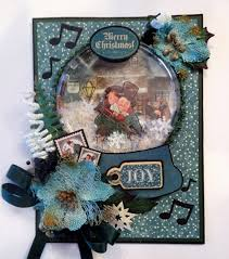 a christmas snow recycle christmas shaker snow globe card tutorial how to make