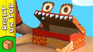 crafts ideas for kids shoebox monster diy on boxyourself youtube