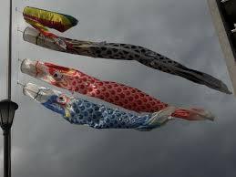 carp streamers samurai armor and iris leaves boys u0027 day festival
