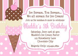 Halloween Party Invite Poem Ice Cream Party Invitations U2013 Gangcraft Net