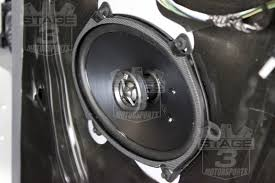 fender mustang 1 speaker upgrade 2010 2016 taurus kicker ks68 6x8 door speaker upgrade kit ks68 2 taur