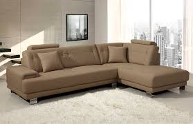 living room stylish couch with chaise lounge a distinctive touch