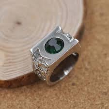 green lantern wedding ring silver plated green lantern ring tesseract tees