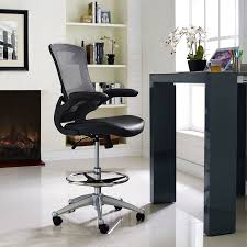 Chair For Drafting Table Wrought Studio Apollonia High Back Mesh Drafting Chair U0026 Reviews