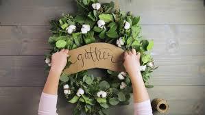 greenery garland how to make a greenery garland wreath hgtv