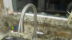 Moen Haysfield Kitchen Faucet by Replacing Moen Faucet Haysfield 87877srs Youtube