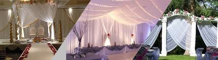 pipe and drape wedding 4 amazing tips to enhance your wedding with pipe and drape