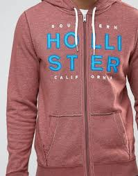 hollister sale hoodies hollister hoodie logo applique in burgundy