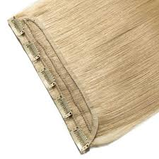 Blonde Hair Extensions Clip In by Piece Straight Clip In Remy Hair Extensions 613 Bleach Blonde