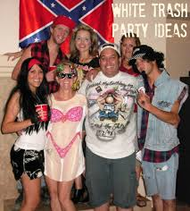 white trash backyard bash white trash party ideas for your big