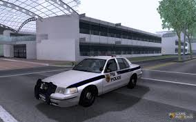 ford crown victoria fbi police unit for gta san andreas