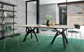 italian extendable dining table enchanting calligaris home furnishing italian design furniture in