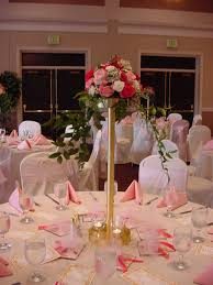 wedding reception table decorations wedding decoration ideas flowers in glass stand vase table