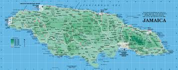 Map Caribbean by Jamaica Map Map Of Jamaica From Caribbean On Line