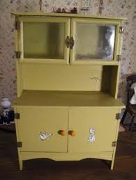 Vintage Kitchen Cabinets For Sale 1930 U0027s Juvenile Hoosier Cabinet Miniature Childs Kitchen Cabinet