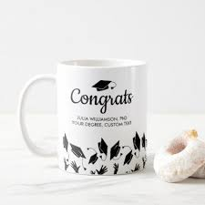 phd graduation gifts phd doctorate degree graduation gift congrats grad coffee mug