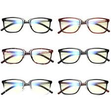 blue light filter goggles vintage block uv transparent lens blue light filter glasses anti