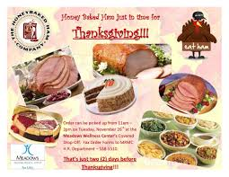 start a new tradition honey baked ham for thanksgiving thechamber
