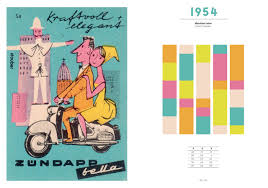 Color Forecast by 365typo A History Of The 20th Century Through Color Trends