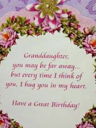 birthday quotes for granddaughters sayings verses and