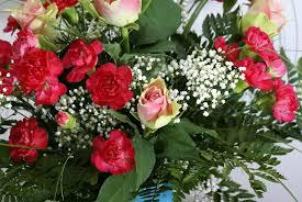Roses Bouquet Lilium And Peach Rose Bouquet