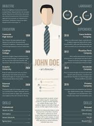 template curriculum vitae creative modern resume cv template with business suit stock vector