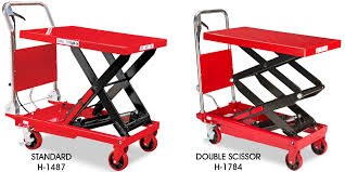 lift cart material handling lifts in stock uline