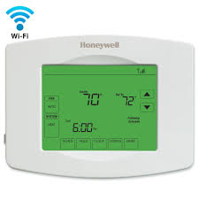 Honeywell Wifi Thermostats Thermostats The Home Depot