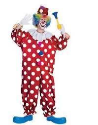 clown jumpsuit unisex and white polka dot clown jumpsuit costume