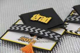 custom graduation caps 3d graduation cap pop up invitations jinkys crafts