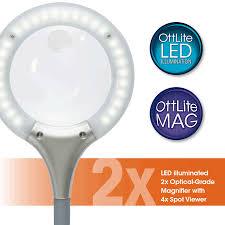 Lighted Magnifying Lamp Floor by Ottlite Ultimate 3 In 1 Craft Floor Lamp Craft Lamp Craft