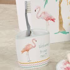 Flamingo Rugs Flamingo Fever Tropical Bath Accessories