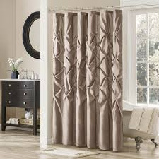 Ruffled Shower Curtain Appealing White Ruffled Shower Curtain Ideas Bathroom Shower