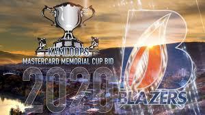 bid 2 win blazers need to get better to win 2020 memorial cup host bid
