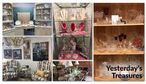 Home Decor Resale by Yesterday U0027s Treasures Thrift Shop Hunterdon County Nj