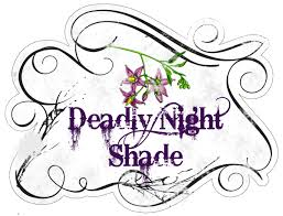 potion bottle label the flower drawing is what deadly night shade