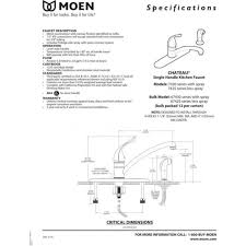 moen kitchen faucet manual moen kitchen faucet parts near me moen chateau shower parts moen