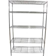 Shelving At Menards by Furniture Chic Five Tier Of Edsal Shelving Made Of Steel For