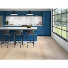 wire brushed white oak kitchen cabinets marley european oak wire brushed engineered hardwood 1 2in