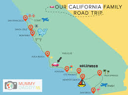 Los Angeles Suburbs Map by Our California Family Road Trip Los Angeles Mummy Daddy Me