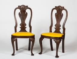 Pictures Of Queen Anne Chairs by Pair Of Pennsylvania Queen Anne Style Shell Carved Mahogany Side